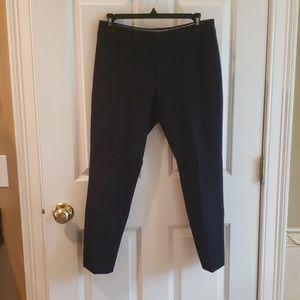 Banana Republic Sloan Fit Navy Crop Pants
